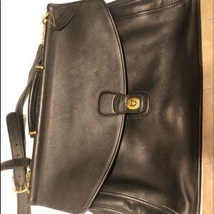 Classic COACH briefcase